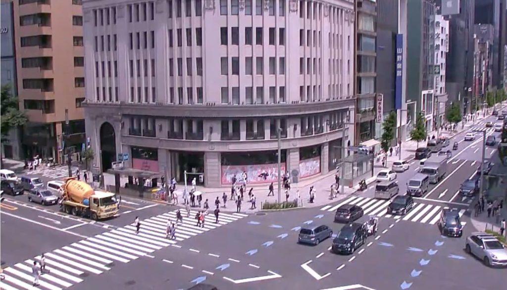 銀座4丁目時計台