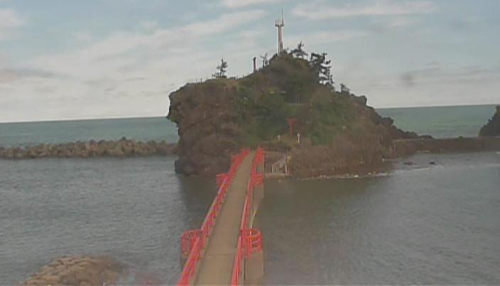 弁天岩-能生海岸