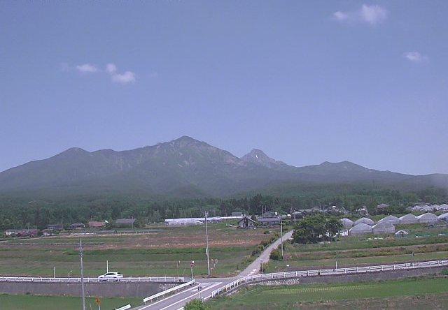 大山から見たの八ヶ岳