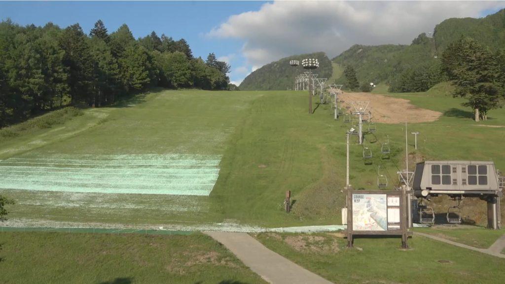 丸沼高原スキー場の中央リフト