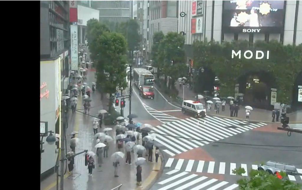渋谷公園通り神南町交差点
