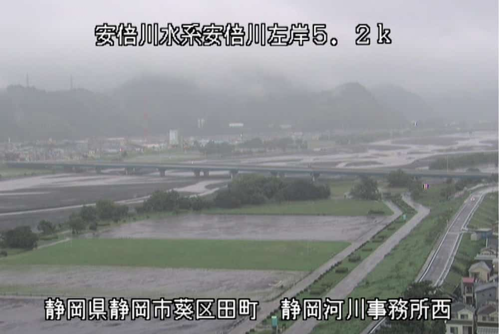 安倍川-安西橋
