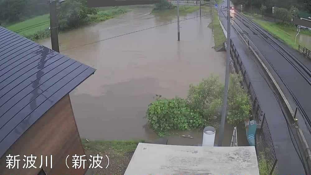 新波川-秋田県秋田市雄和新波