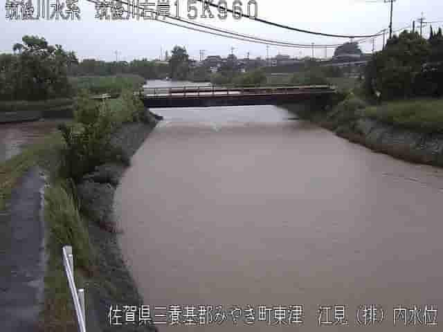 筑後川-江見排水機場