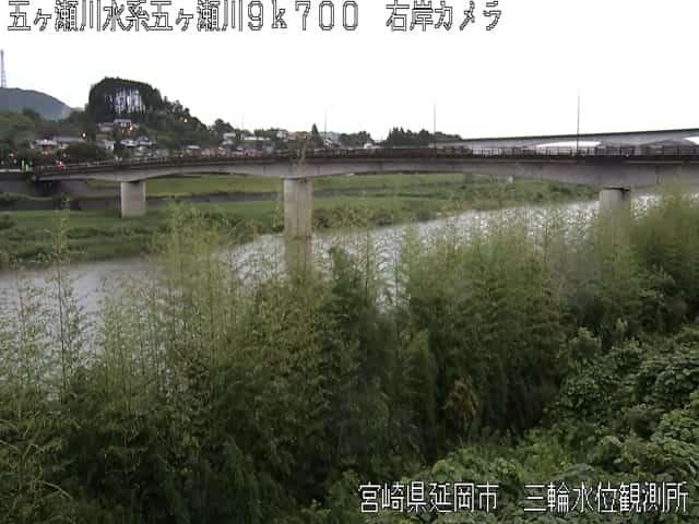 五ヶ瀬川-岩熊大橋