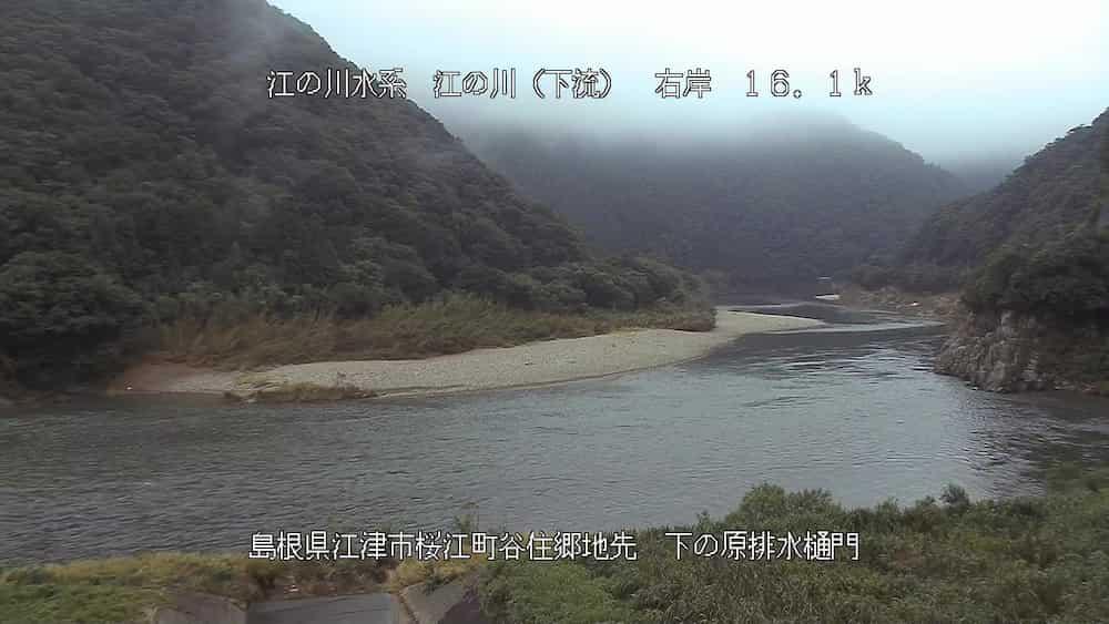 江の川-桜江大橋下流
