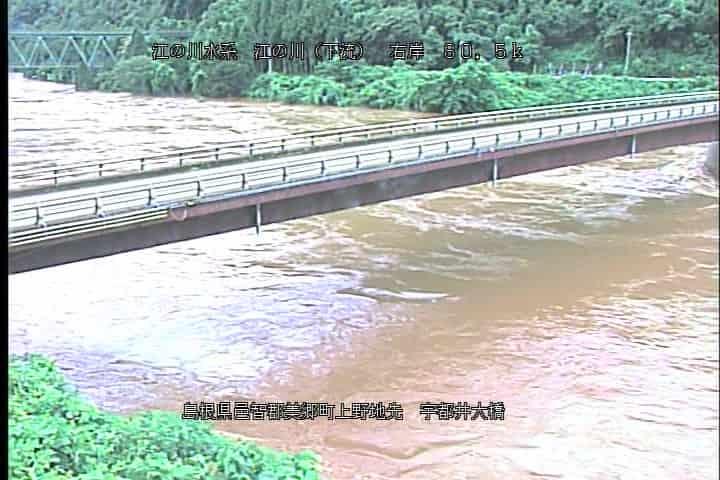 江の川-宇都井大橋
