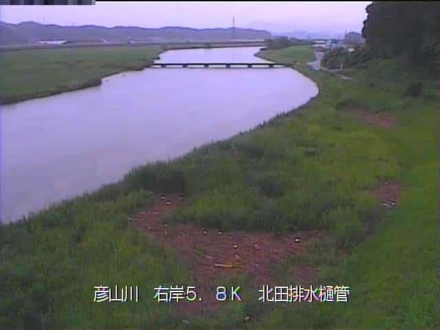 遠賀川-蔵元橋付近