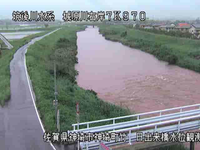 城原川-日出来橋