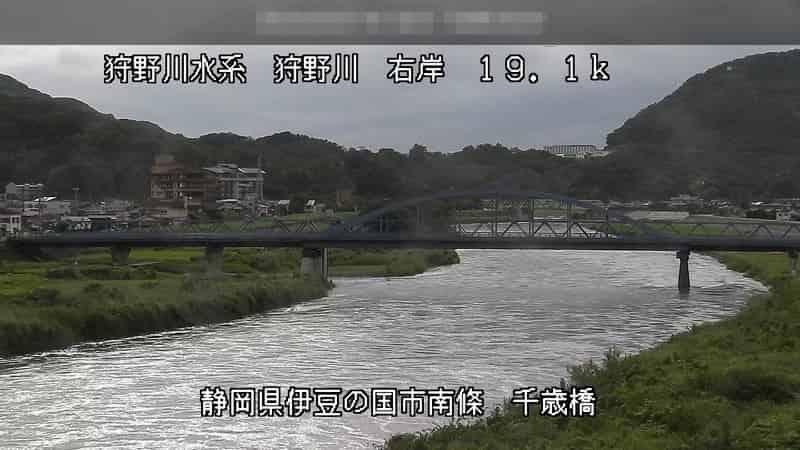 狩野川-千歳橋