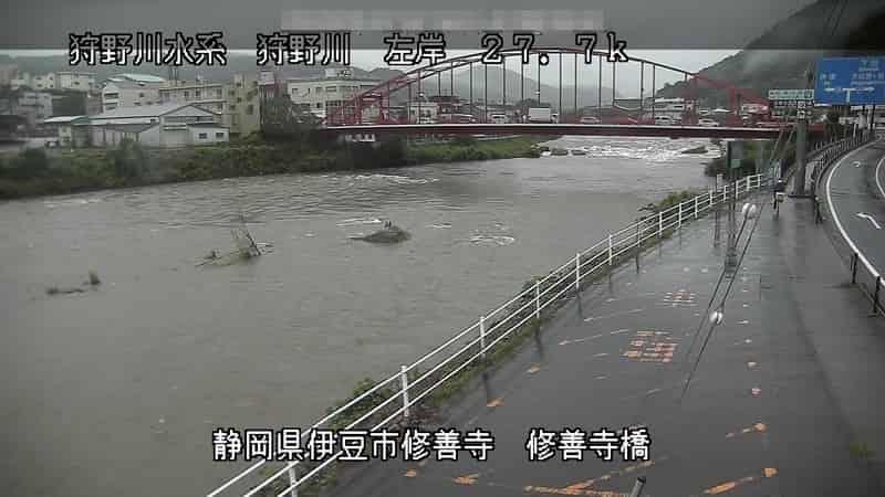狩野川-修善寺橋