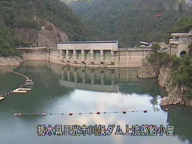 川俣ダム上流2カメラ(係船小屋カメラ)