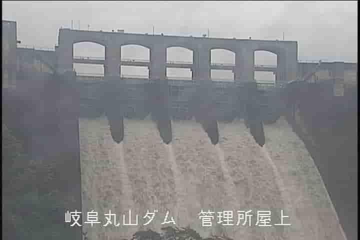 丸山ダム-管理所屋上