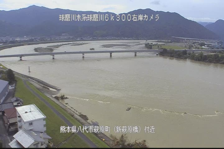 球磨川-萩原橋