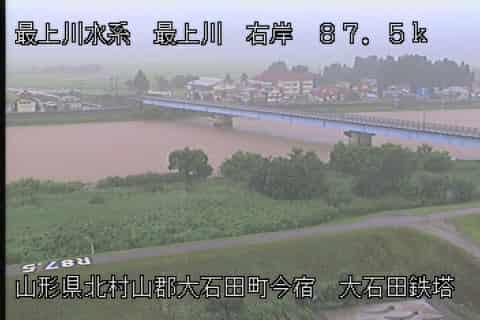 最上川-大橋