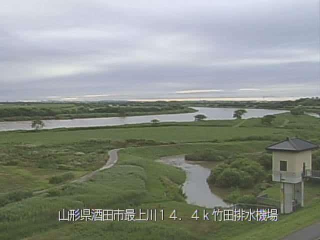 最上川-武田排水機場