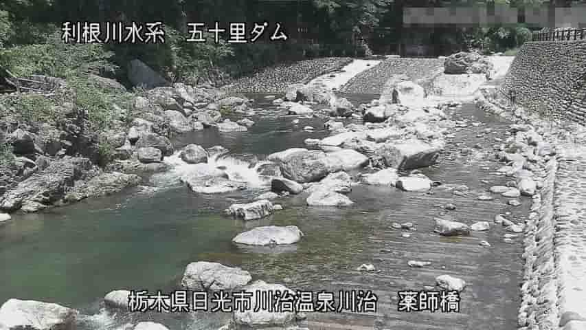 男鹿川-薬師寺橋
