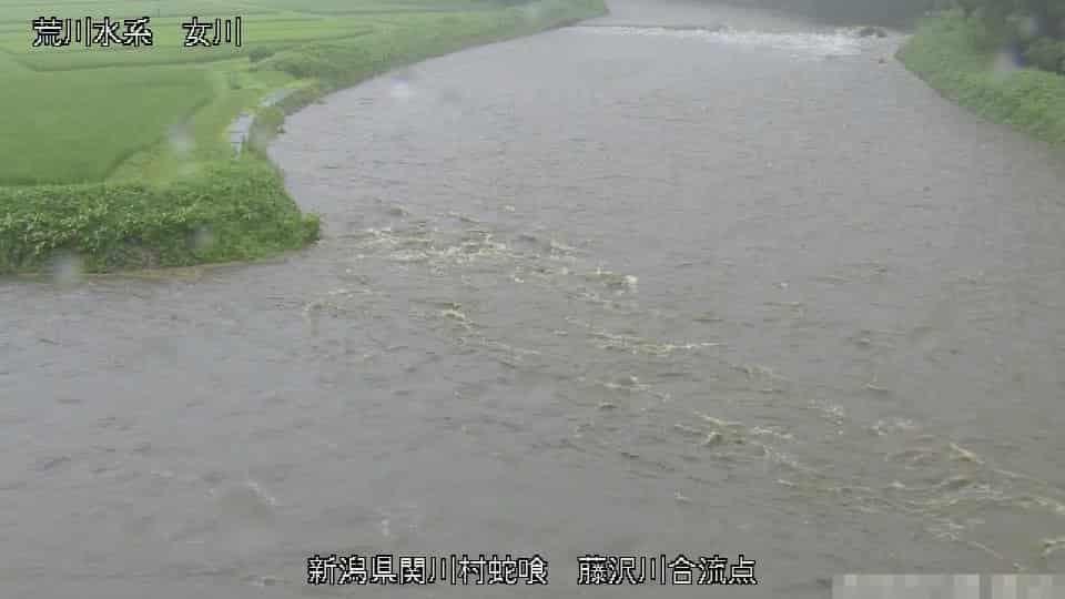 女川-藤沢川合流点