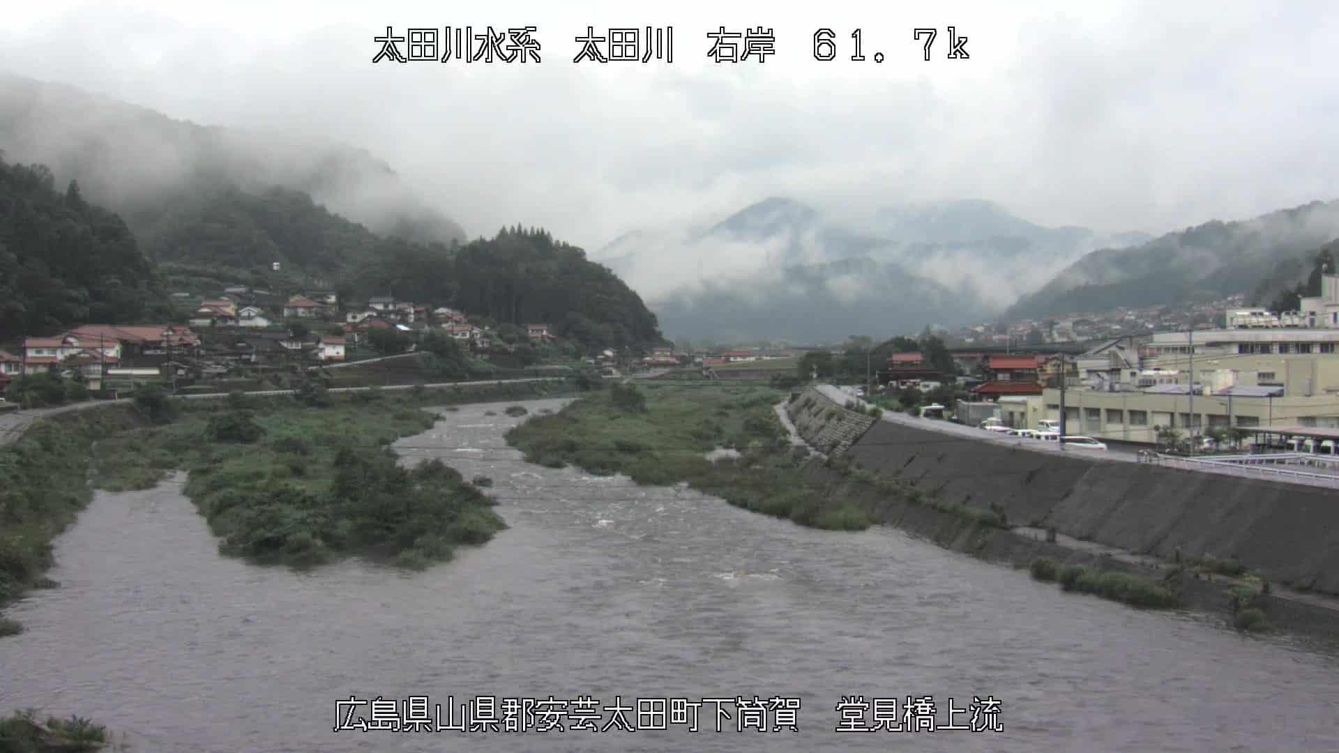 太田川-堂見橋上流