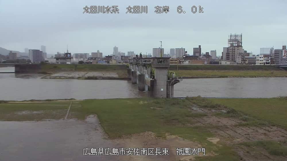 太田川-祇園水門