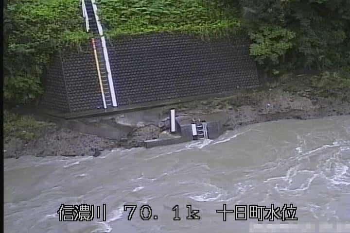 信濃川十日町水位観測所