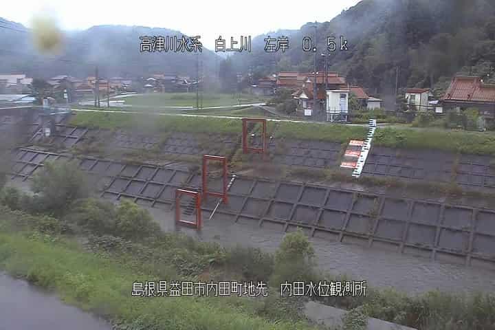 津川 カメラ 高 水位