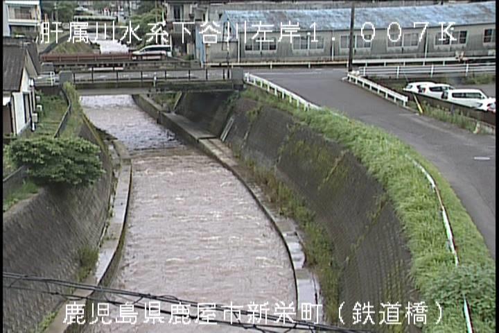 鉄道橋-鹿屋市新栄町