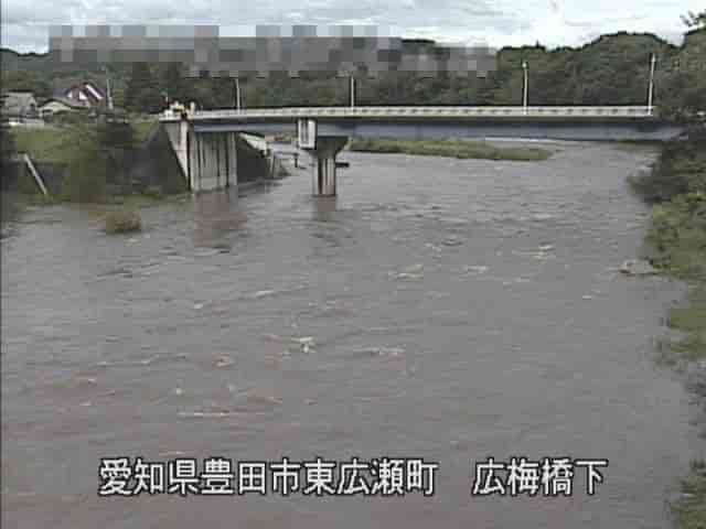 矢作川-広梅橋