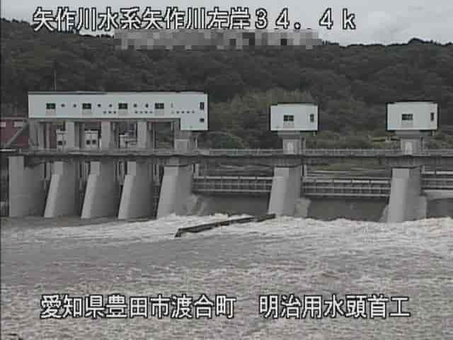 矢作川-明治頭首工水源橋