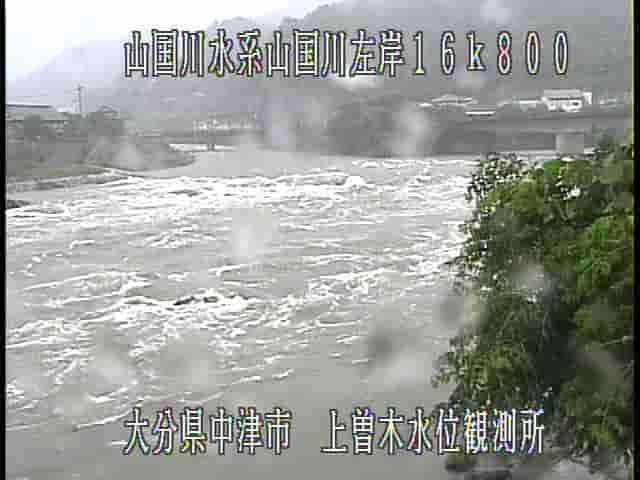 山国川-上曽木水位観測所