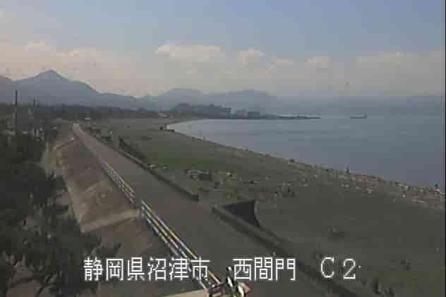 富士海岸-西間門