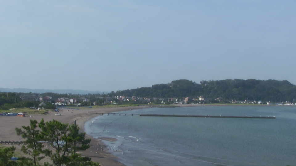原岡海岸-海水浴場