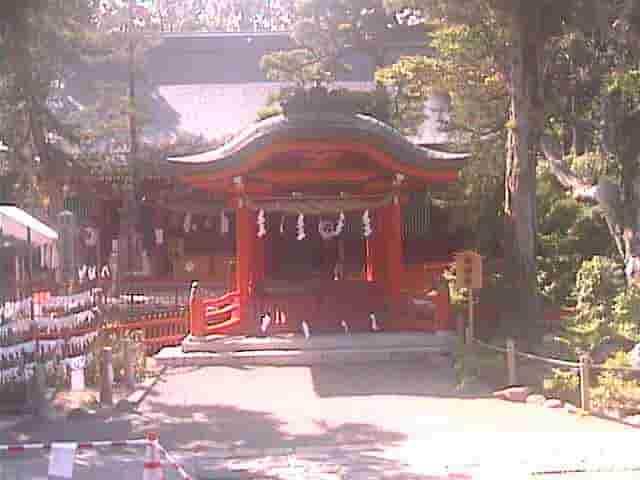 生島足島神社-御神橋