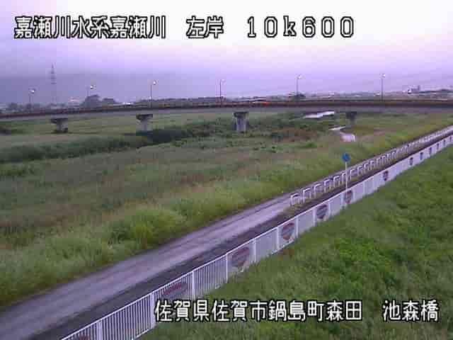 嘉瀬川-池森橋