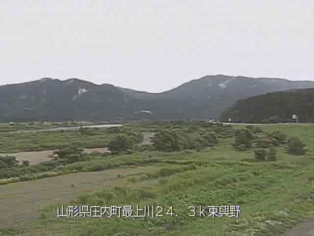 最上川-北楯大堰