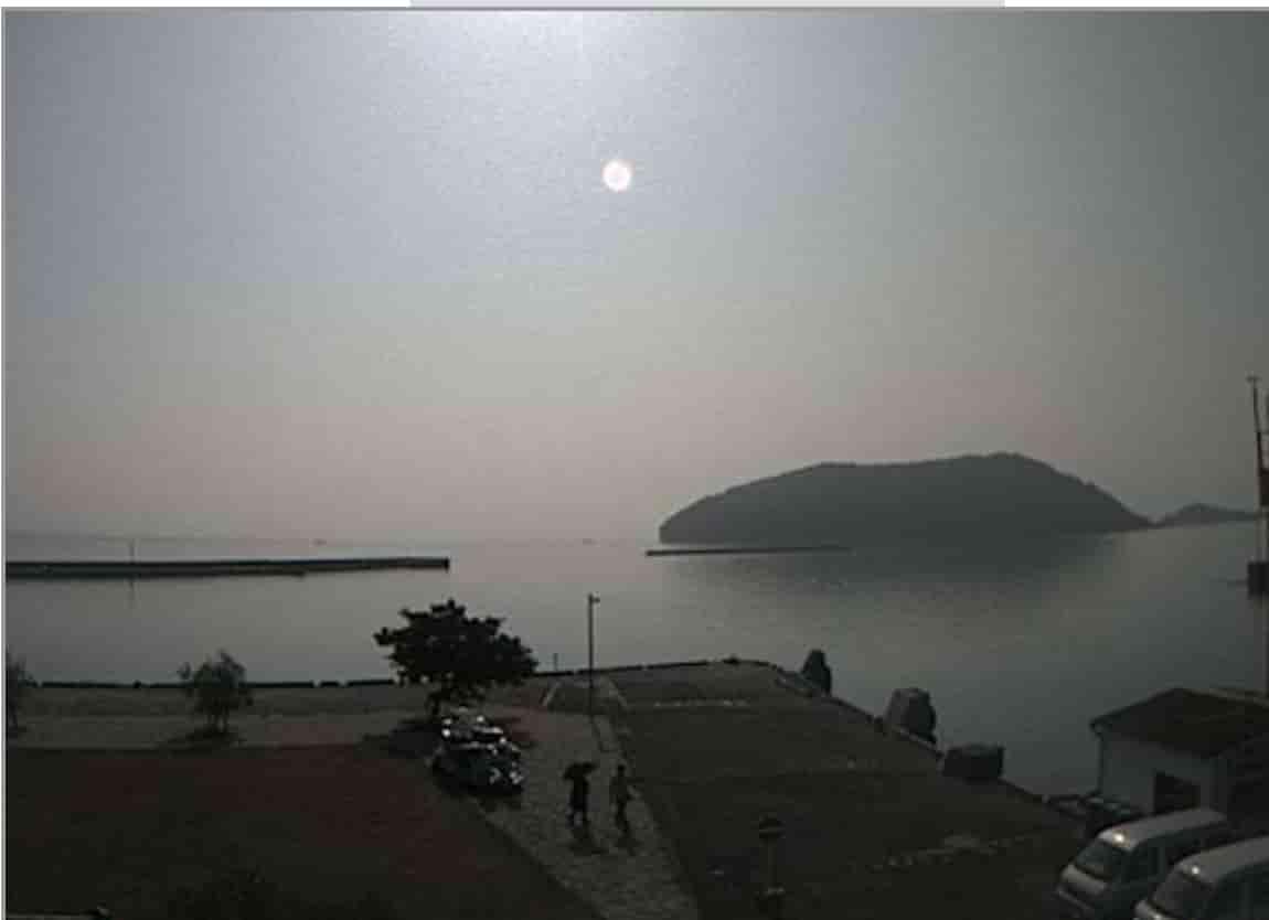 鬼池港-亀島