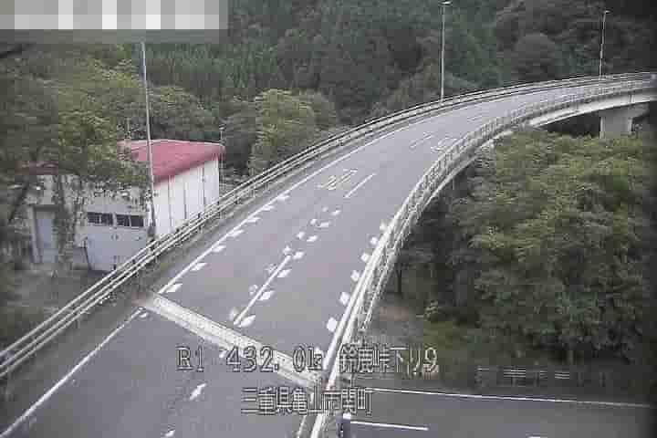 国道1号-鈴鹿峠下り-大滝橋