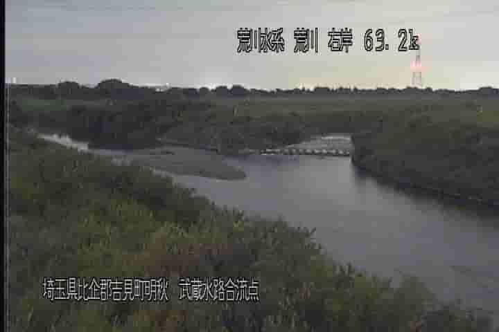 荒川-武蔵水路合流点