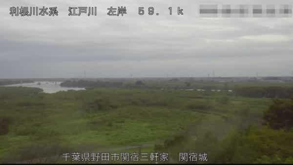 江戸川-関宿城