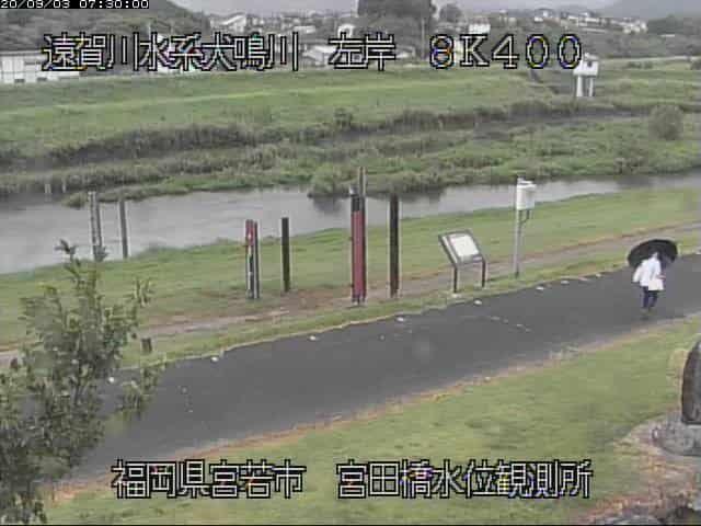犬鳴川-宮田水位観測所
