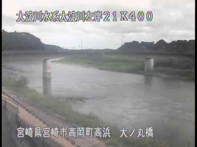 大淀川-大ノ丸橋