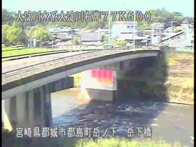 大淀川-岳下橋