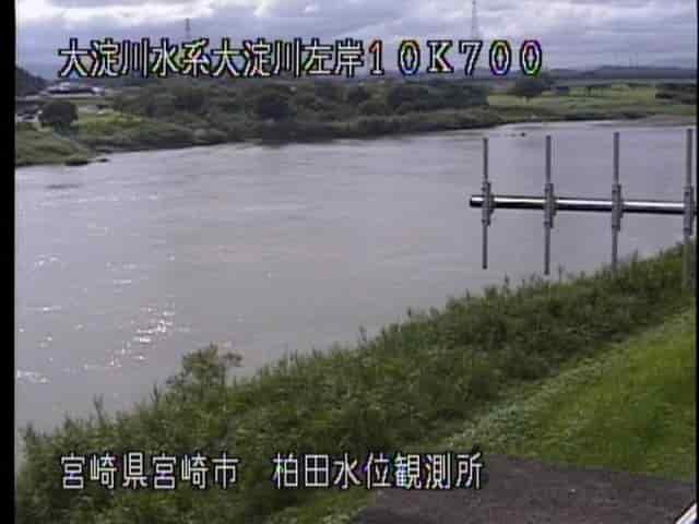 大淀川-柏田水位観測所