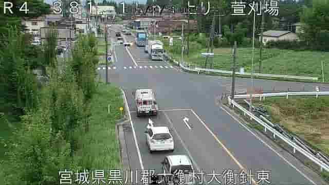 国道4号-大衡村河原交差点