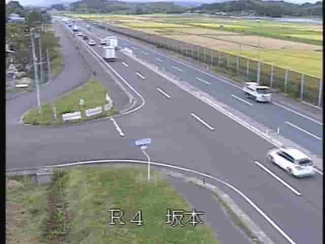 国道4号-坂本