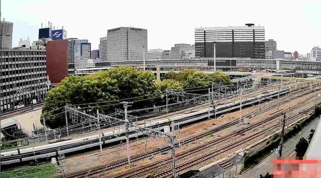 新大阪正面入口方面