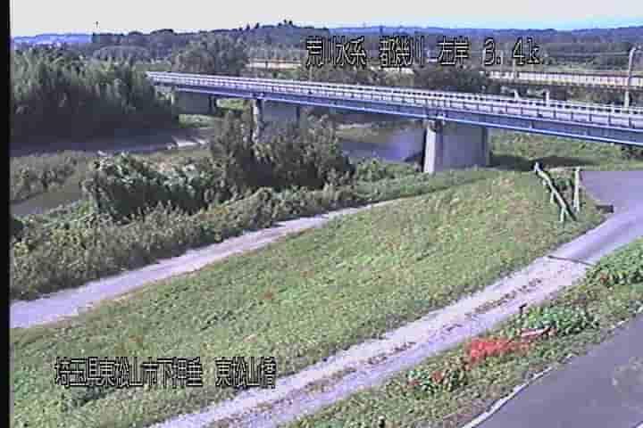都幾川-東松山橋