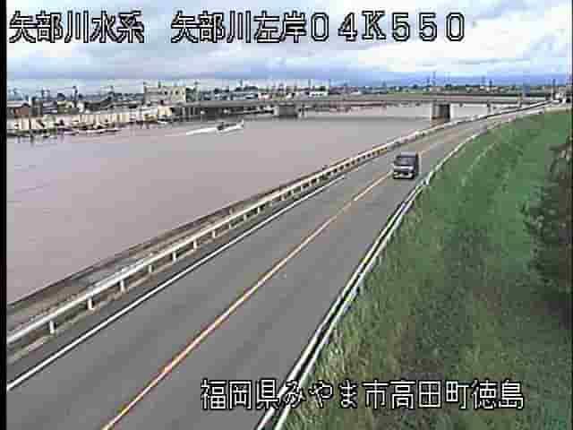 矢部川-浦島橋