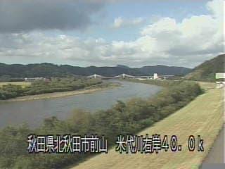 米代川-坊沢排水樋管