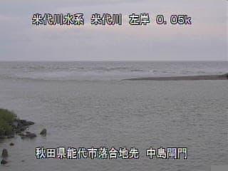 米代川-中島閘門